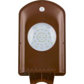 Светильник с датчиком SP2331, 2W, 6400K, IP65, цвет коричневый