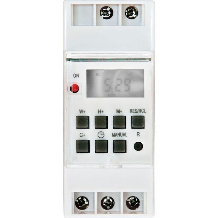 Реле времени TM41, 3500W, 16A, 220-240V, цвет белый