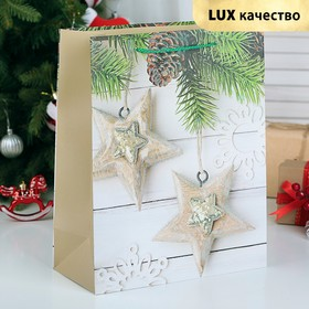 """The package laminated """"Stars"""", Lux, 26 x 12 x 32 cm"""