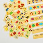 """Деревянный комодик сортер """"Умный малыш"""" (88 картонных карточек) - фото 105584692"""