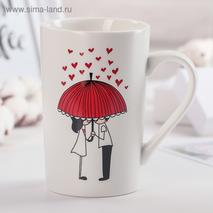 "Mug 380 ml of ""Umbrella for two"""