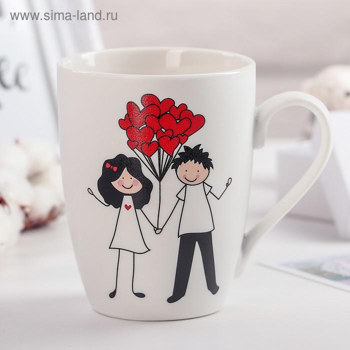 """Mug 350 ml of """"let's Fly together!"""""""