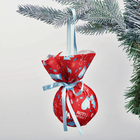 """Christmas ball """"Let the winter will be warm!"""", 8 cm"""