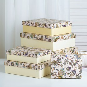 Set boxes 6in1, 32 x 26 x 11 - 18 x 14 x 5 cm
