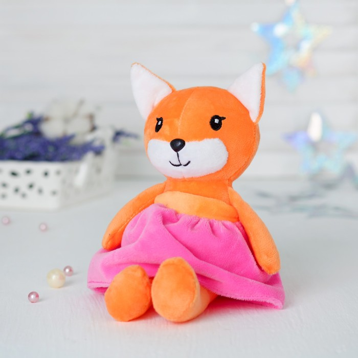 Кукла интерьерная «Лисичка»