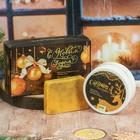 """Подарочный набор """"С Новым годом!"""": крем для рук с ароматом ванильного печенья, мыло"""