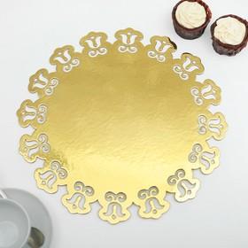 Подложка для торта, ажурная