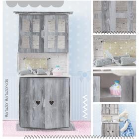 Мебель для кукол–малюток «Кухонный буфет», набор для шитья, 15 × 23,2 × 2,2 см