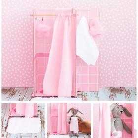 Мебель для кукол–малюток «Ванная комната», набор для шитья, 15 × 23,2 × 2,2см