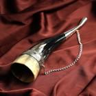 """Сувенирный рог для вина """"Арарат"""" ручная работа, 20 см"""