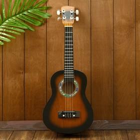 "Гитара-укулеле ""Тёмная ночь"" 55х20х6 см"