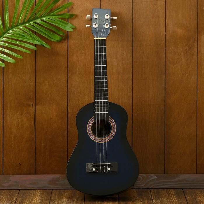 "Гитара-укулеле ""Сияние"" 55х20х6 см"