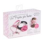 Резинки для волос «Королевский», розовый, набор для создания, 12 × 18 × 4 см