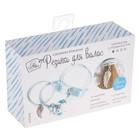 Резинки для волос «Ангел», голубой, набор для создания, 12 × 18 × 4 см