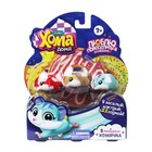 """Интерактивная игрушка """"Хома Дома"""", 3 хомяка: красный, коричневый, голубой"""