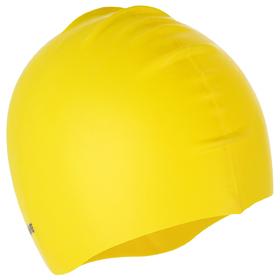 Силиконовая шапочка для плавания INTENSIVE, M0535 01 0 06W, жёлтый