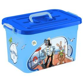 Ящик для хранения игрушек, 10 л, МИКС Ош