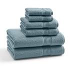 Полотенце Bluestone, размер 33х33 см, синий, махра
