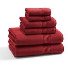 Полотенце Rosewood, размер 33х33 см, красный, махра