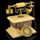 Retro phone Ivory, rectangular furnace 17х26х30 cm
