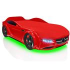 Кровать Romack Junior AMG, 1500 x 700 см,подсветка дна и фар, цвет красный
