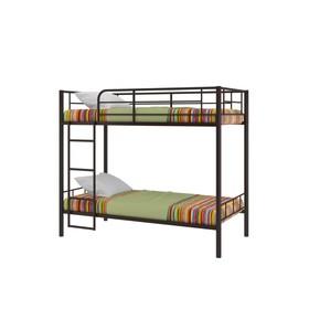 Двухъярусная кровать «Севилья 3», 2080 х 1060 х 1630 мм, цвет коричневый