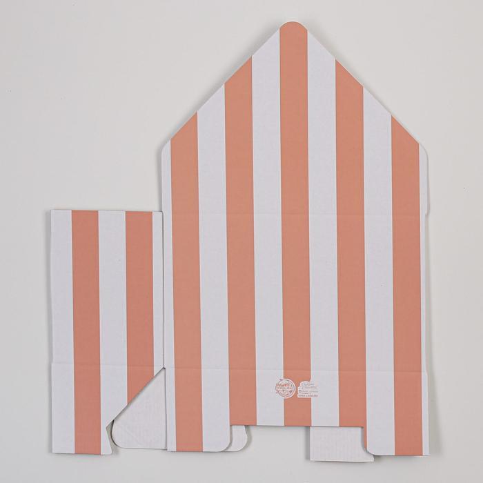 Коробка-письмо «Для чудесного настроения», 25 × 33 × 10 см