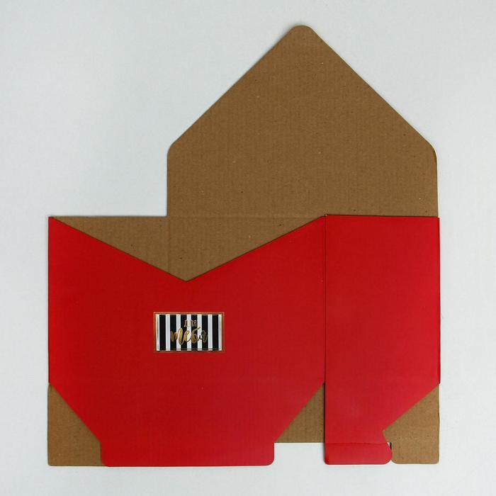 Коробка-письмо «Я дарю тебе красоту», 25 × 33 × 10 см