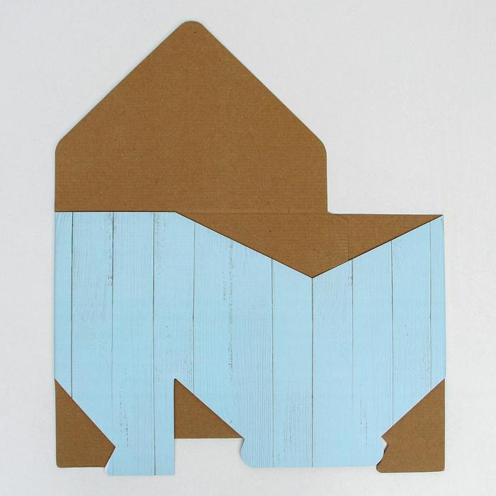 Коробка-письмо «Цветочная феерия», 25 × 33 × 10 см