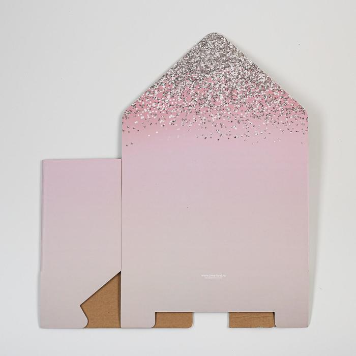 Коробка-письмо «Для самой нежной», 25 × 33 × 10 см