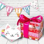 """Набор для проведения праздника """"День рождения"""" упаковочная бумага"""