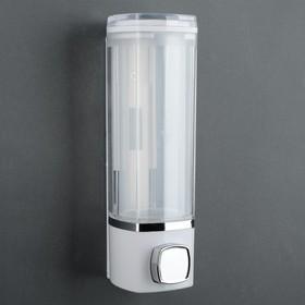 Диспенсер для жидкого мыла механический, 280 мл, пластик, цвет МИКС