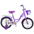 "Велосипед 16"" Graffiti Premium Girl RUS, цвет сиреневый"