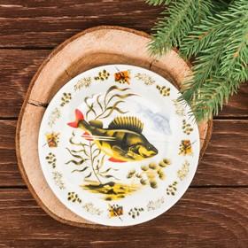 "Decorative plate ""Perch"", 15 cm"
