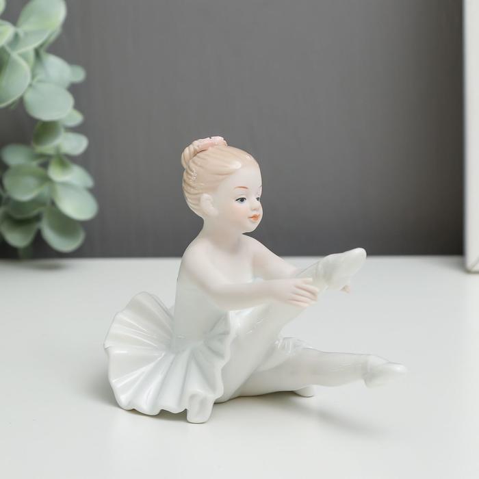 """Сувенир керамика """"Будущая прима-балерина"""" 9,8х13,5х8,3 см"""
