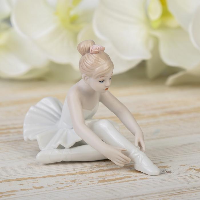 """Сувенир керамика """"Маленькая балерина"""" 7х11х6,5 см"""