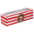 Коробочка для макарун «Удачи», 18 × 5,5 × 5,5 см