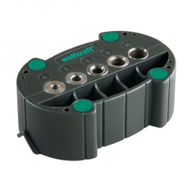 Кондуктор для сверления Wolfcraft 4685000, d=4,5,6,8,10 мм, V-образный паз
