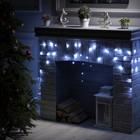 """Гирлянда """"Бахрома"""", 3 х 0.5 м, LED-80-220V, 8 режимов, нить тёмная, свечение белое"""