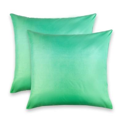 """Комплект наволочек """"Этель"""" Пиксели (зелёный) 70*70 см- 2 шт.,новосатин, 90%хлопок,10% п/э"""
