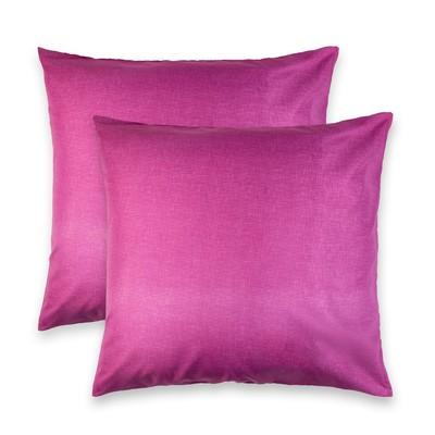 """Комплект наволочек """"Этель"""" Пиксели (фиолетовый) 70*70 см-2 шт,новосатин, 90%хлопок,10% п/э"""