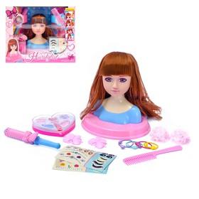Кукла-манекен для создания причёсок «Стилист» с аксессуарами