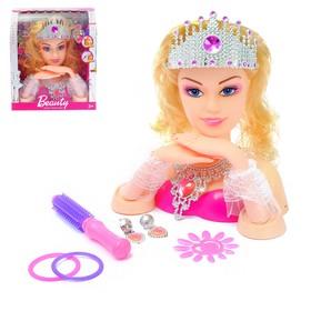 Кукла-манекен для создания причёсок 'Принцесса' с аксессуарами Ош