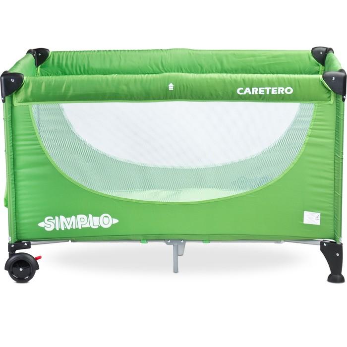 Манеж-кровать SIMPLO GREEN, зелёный