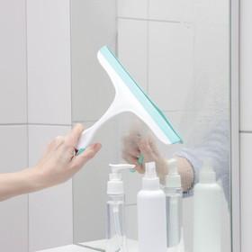 Водосгон с изогнутой ручкой, 24×22 см, цвет МИКС - фото 4644319
