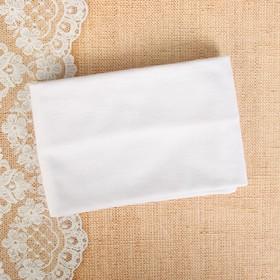Набор для рукоделия - отрез трикотажный  (белый)