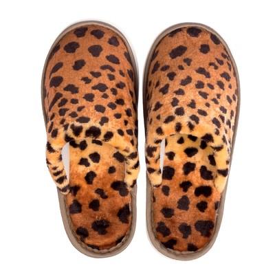 Тапочки женские арт. С-6ЖВТ (леопард) (р. 37)