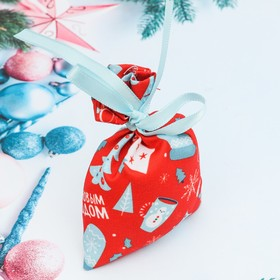"""Аромасаше в мешочке """"С Новым Годом"""", зимний мандарин, 10 см"""