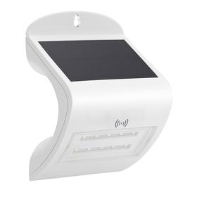 Светильник светодиодный на солнечной батарее, 0,2Вт, 6000К, датчик радар