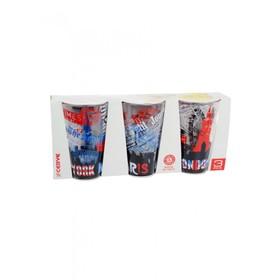 Набор стаканов «Вояж», объём 310 мл, 3 шт.